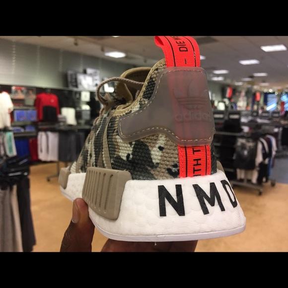 e1f79ebee adidas Shoes - Adidas NMD R1 Camo Olive Black. housakicks